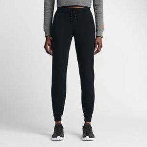 Nike Black Run Crew Track Jogger Running Pants